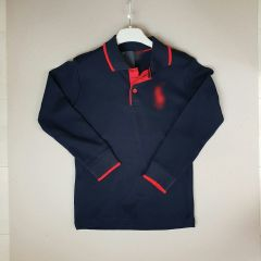 Bluza bleumarin model polo 11/12 ani
