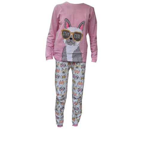 Pijama Cool Doggy Pug